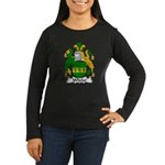 Wheler Family Crest Women's Long Sleeve Dark T-Shi