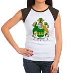 Wheler Family Crest Women's Cap Sleeve T-Shirt