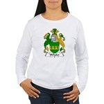 Wheler Family Crest Women's Long Sleeve T-Shirt