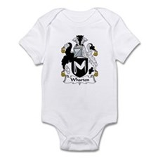 Wharton Family Crest Infant Bodysuit