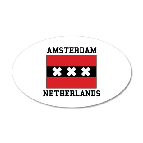 Amsterdam Netherlands Wall Decal