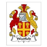 Westfield Family Crest Small Poster