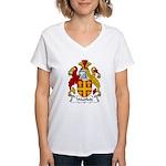 Westfield Family Crest  Women's V-Neck T-Shirt