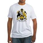 Wentworth Family Crest Fitted T-Shirt