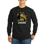 Wentworth Family Crest Long Sleeve Dark T-Shirt