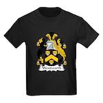 Wentworth Family Crest Kids Dark T-Shirt