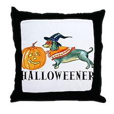 Halloweener Throw Pillow