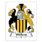 Wellend Family Crest Small Poster