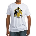 Wellend Family Crest Fitted T-Shirt