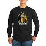 Wellend Family Crest Long Sleeve Dark T-Shirt