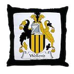 Wellend Family Crest Throw Pillow
