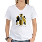 Wellend Family Crest Women's V-Neck T-Shirt