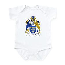 Welch Family Crest Infant Bodysuit