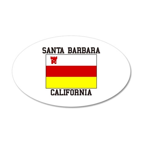 Santa Barbara, California Wall Decal