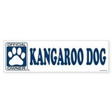KANGAROO DOG Bumper Bumper Sticker