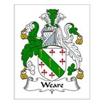 Weare Family Crest Small Poster