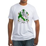 Weare Family Crest Fitted T-Shirt
