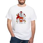 Wayne Family Crest White T-Shirt