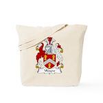 Wayne Family Crest Tote Bag