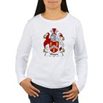 Wayne Family Crest Women's Long Sleeve T-Shirt