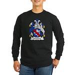 Wayland Family Crest Long Sleeve Dark T-Shirt