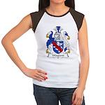 Wayland Family Crest Women's Cap Sleeve T-Shirt