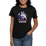 Wayland Family Crest Women's Dark T-Shirt