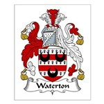 Waterton Family Crest Small Poster