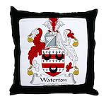 Waterton Family Crest Throw Pillow