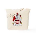 Waterton Family Crest Tote Bag