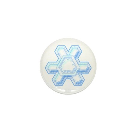 Flurry Snowflake XII Mini Button (100 pack)
