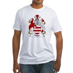 Wass Family Crest Fitted T-Shirt