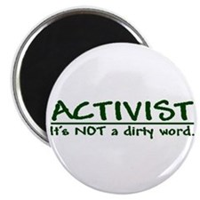 """A dirty word"" 2.25"" Magnet (10 pack)"