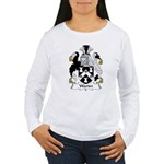 Warter Family Crest Women's Long Sleeve T-Shirt