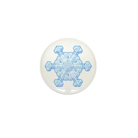 Flurry Snowflake XI Mini Button (100 pack)