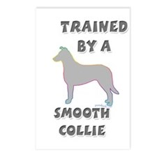 Smooth Collie Slvr Postcards (Package of 8)