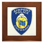 Alaska Airport Police Framed Tile