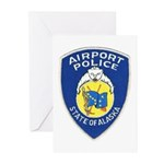Alaska Airport Police Greeting Cards (Pk of 10)