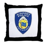 Alaska Airport Police Throw Pillow