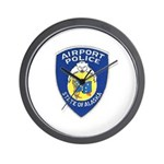 Alaska Airport Police Wall Clock