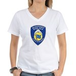 Alaska Airport Police Women's V-Neck T-Shirt