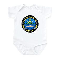 USS Sierra (AD 18) Infant Bodysuit