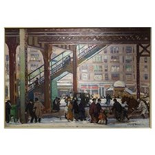 Elevated Columbus Avenue - Gifford Beal