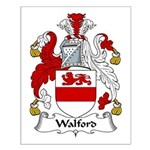 Walford Family Crest Small Poster