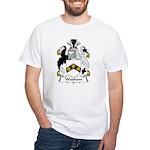 Wadham Family Crest White T-Shirt