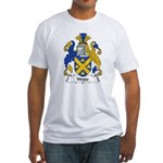 Wade Family Crest Fitted T-Shirt