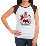 Waddington Family Crest  Women's Cap Sleeve T-Shir