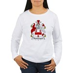 Waddington Family Crest  Women's Long Sleeve T-Shi