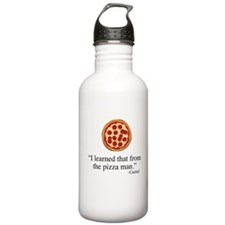 Supernatural Castiel's Pizzaman Water Bottle