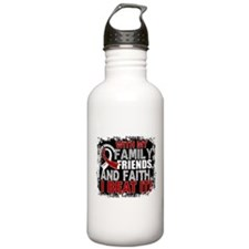 Head Neck Cancer Survi Water Bottle